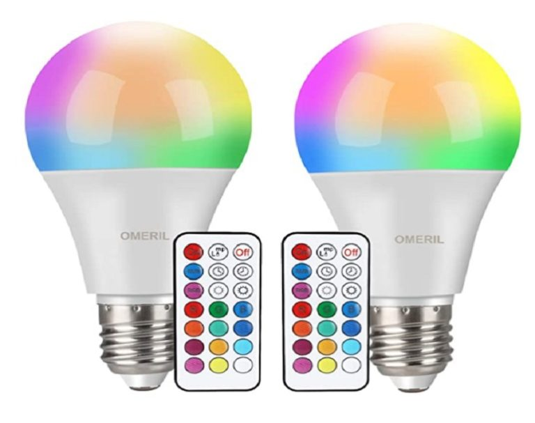 Bombilla de colores para Fiestas Omeril RGBW (5)