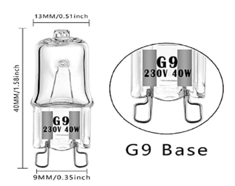 Bombillas Halógenas G9 Bogao (3)