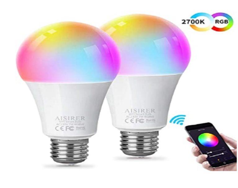 Bombillas Wifi Amazon Aisirer Multicolor (2)