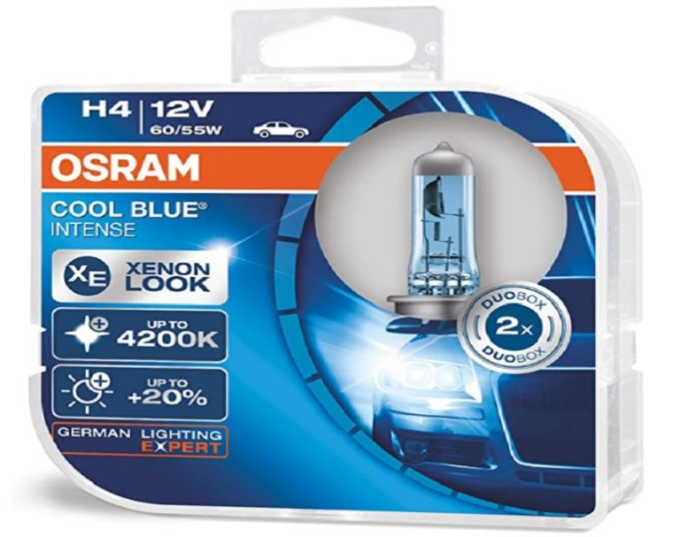 Bombillas h4 Osram Cool Blue Intense (4)