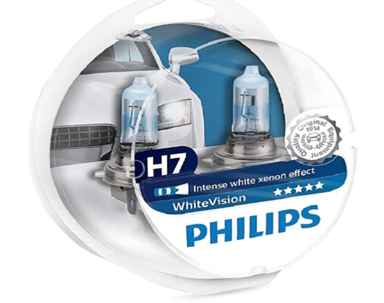 Bombillas h7 Led Philips White Visión (3)