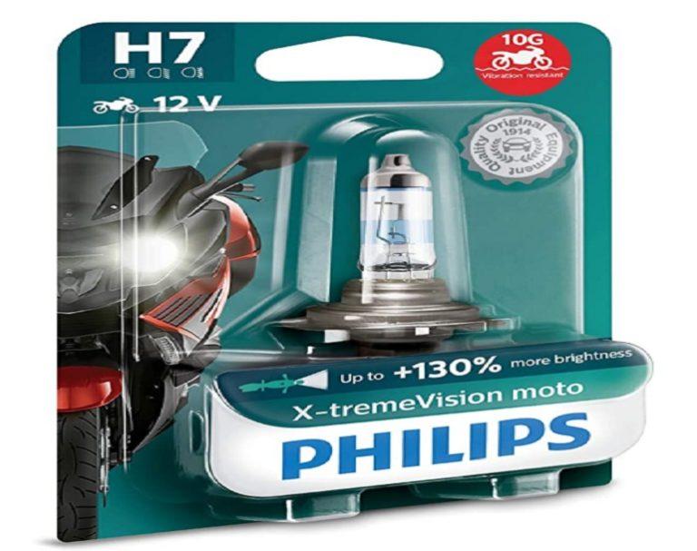 Bombillas h7 Led Philips X-Treme Vision Moto (4)