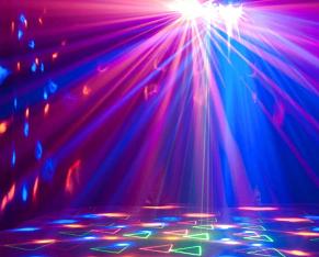 bombillas colores fiestas